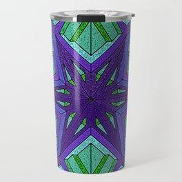 Star Violets Travel Mug