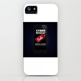 Cyber Monday Sale iPhone Case