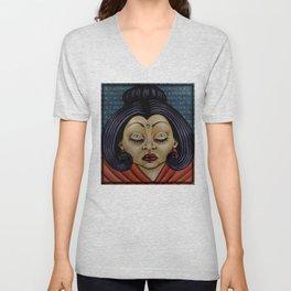 SHE, Buddha Unisex V-Neck