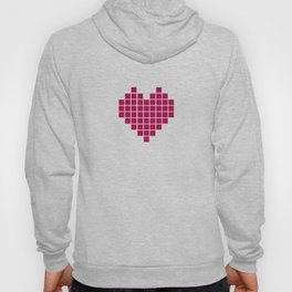 Pixelated Heart Hoody