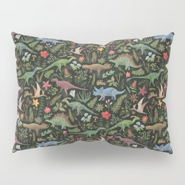 Dinosaur Jungle Pillow Sham