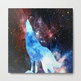 NOCTURNE : ASTRAL WOLF Metal Print