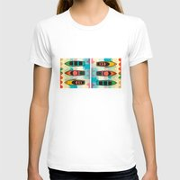 boats T-shirts featuring the boats by Julia Tomova