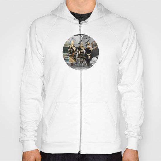 Flying 4 Collage Hoody