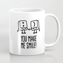 You make me smile Coffee Mug