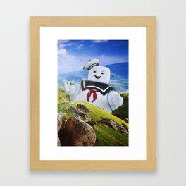 Stay Puft Framed Art Print