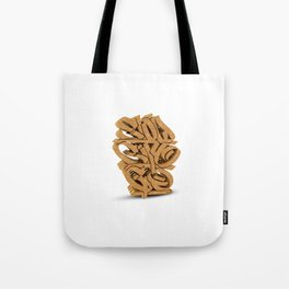 """SLOW CITY GO"" Tote Bag"