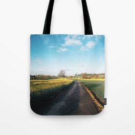 Early morning in derbyshire Tote Bag