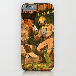1910 Cognac Otard Dupuy Cornac Advertisement Poster iPhone Case