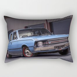 Bill Skyrm's Valiant Pacer Rectangular Pillow