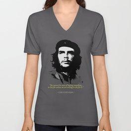 Che Guevara Quote Unisex V-Neck