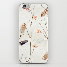Feather Tree iPhone Skin