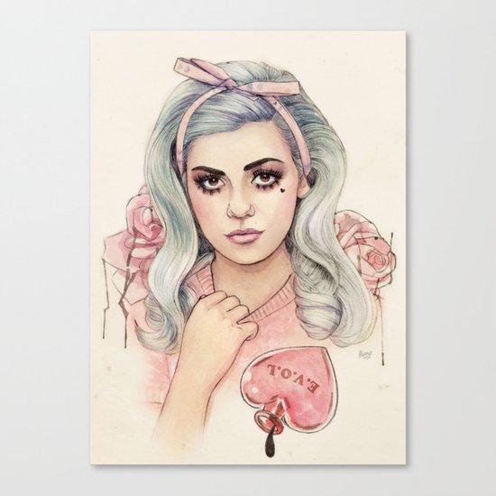 L.O.V.E | E.V.O.L Canvas Print