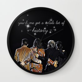 One Direction - History Wall Clock