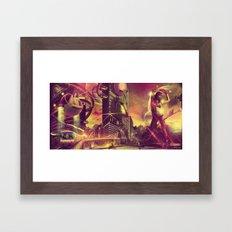 Cityshift Framed Art Print
