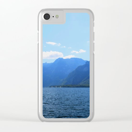 Koenigssee Lake with Alpes Mountains 2 on #Society6 Clear iPhone Case