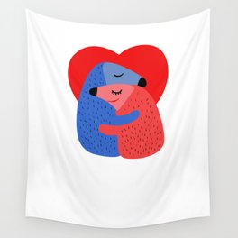 Valentines Day Wall Tapestry