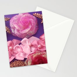 RIBBONS & FILIGREE Stationery Cards