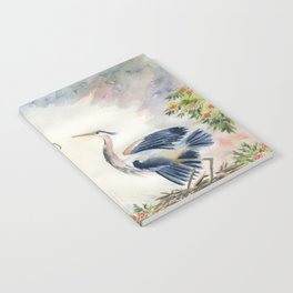 Great Blue Heron Couple Notebook