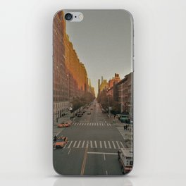 The Yellow Muted City (Color) iPhone Skin