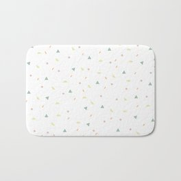 glaze and mixed decorative sprinkles Bath Mat