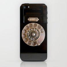 OLD BLACK PHONE iPhone & iPod Skin