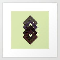 #7 Diamond-d-d-d – Geometry Daily Art Print