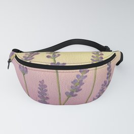 Lavender in Sunset Fanny Pack