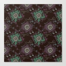 Branches pattern Canvas Print