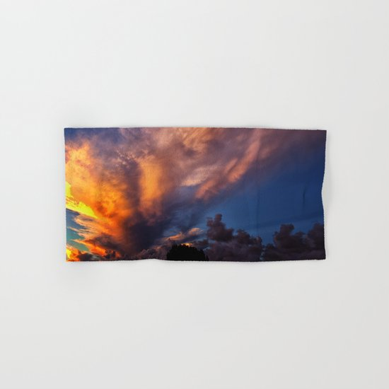 Winged Sunset Hand & Bath Towel
