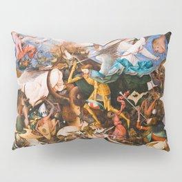 The Fall Of The Rebel Angels 1562 By Pieter Bruegel The Elder Pillow Sham