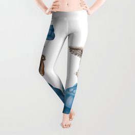Flying basset Leggings