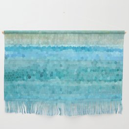 Misty Watecolor Mosaic Wall Hanging