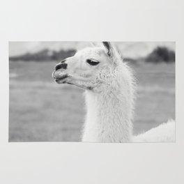 Mountain Llama Rug