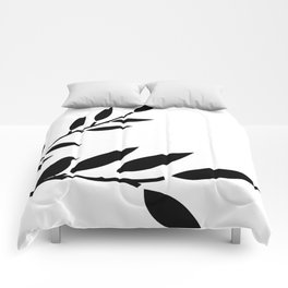 Bird and Branches Silhouette Comforters