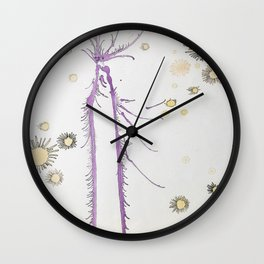 Love Triumphs Wall Clock