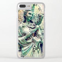 Trapani art 26 Sicilia Clear iPhone Case