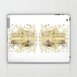 Hamsa Hand – Gold Palette Laptop & iPad Skin