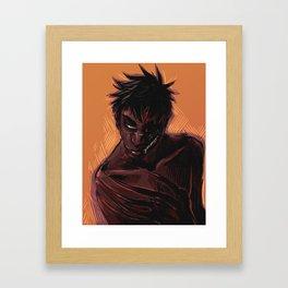 Spook 3 Framed Art Print