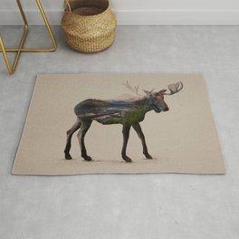 The Alaskan Bull Moose Rug
