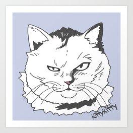 Kittykitty2 Art Print