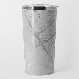 Silver Splatter 089 Travel Mug