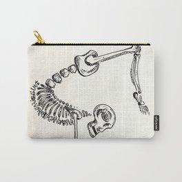 """""""Dwi Pada Viparata Dandasana"""" Skeleton Print Carry-All Pouch"""