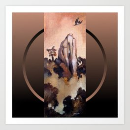 Flight of the Kukupa Art Print