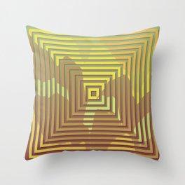 TOPOGRAPHY 2017-018 Throw Pillow