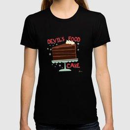 Devil's Food Cake An All American Classic Dessert T-shirt