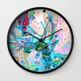 May Your Christmas Shine Wall Clock