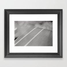 Rain Spot Framed Art Print