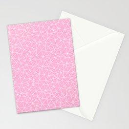 Rose Quartz Triangles Stationery Cards