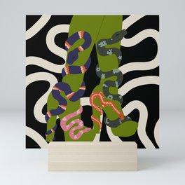 Snake Charmer III Mini Art Print